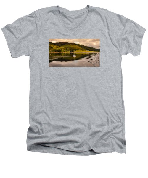 Sailing In Scotland Men's V-Neck T-Shirt