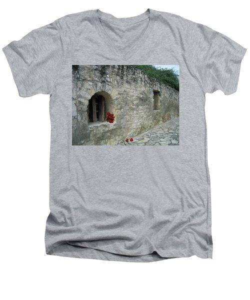 San Antonio Rose Men's V-Neck T-Shirt