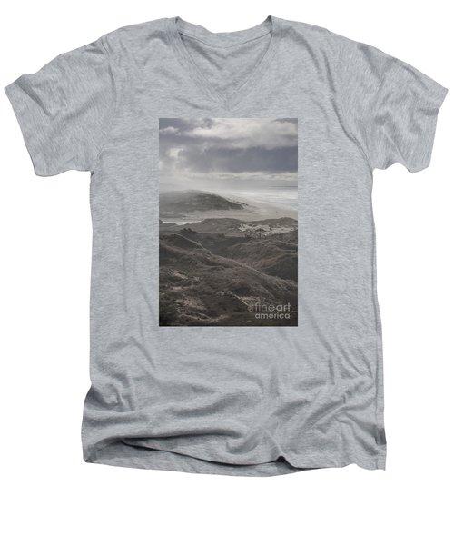 Sand Dunes Men's V-Neck T-Shirt