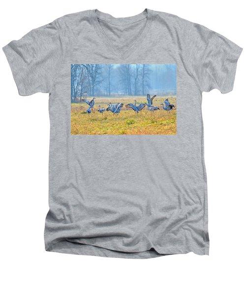 Saturday Night Men's V-Neck T-Shirt
