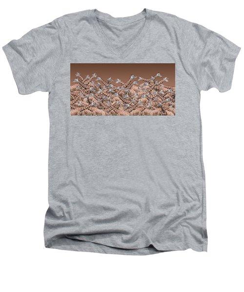 Sea Of Giraffes Men's V-Neck T-Shirt