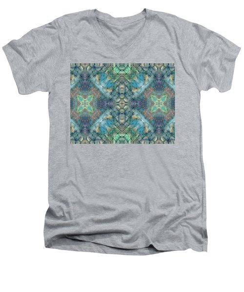 Seascape II Men's V-Neck T-Shirt