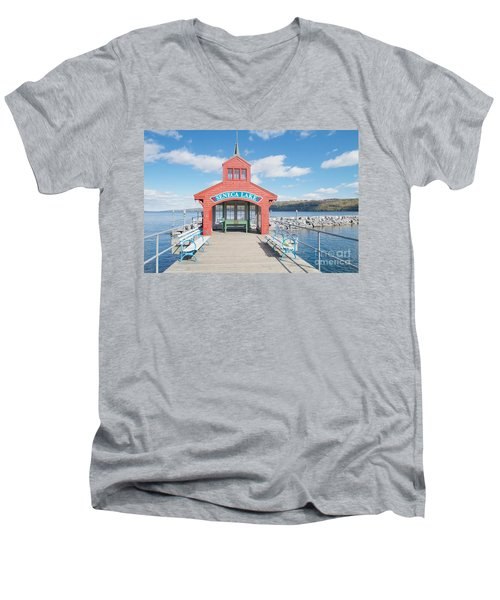 Seneca Lake Men's V-Neck T-Shirt