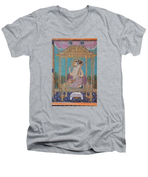 Shah Jahan Men's V-Neck T-Shirt
