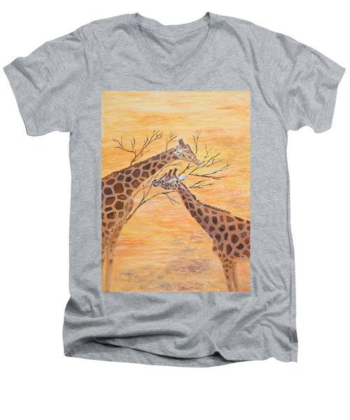 Sharing Men's V-Neck T-Shirt