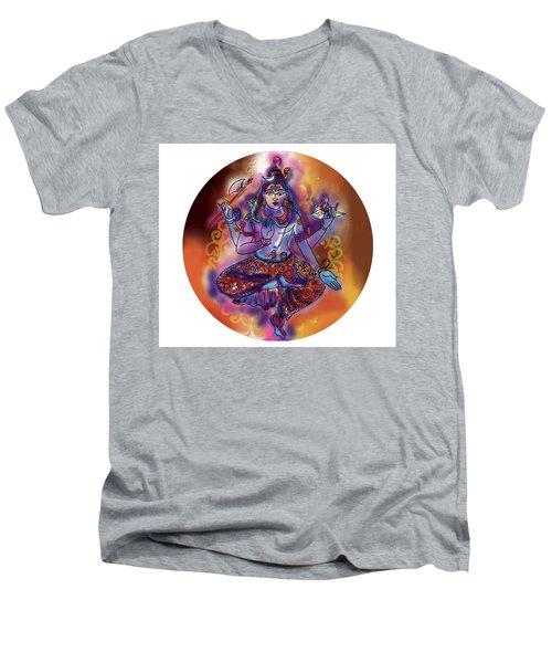 Shiva Dhyan Men's V-Neck T-Shirt