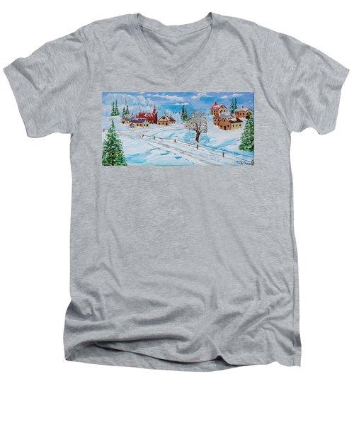 Winter Hamlet Men's V-Neck T-Shirt