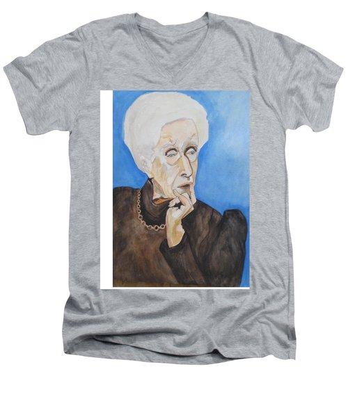 So Curious Men's V-Neck T-Shirt