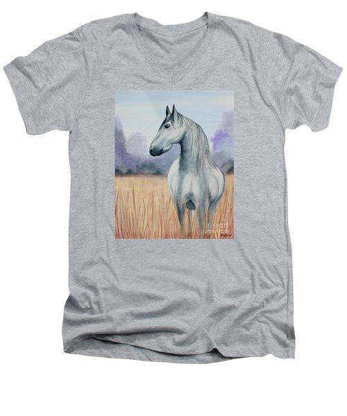 Solemn Spirit Men's V-Neck T-Shirt