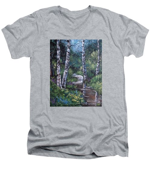 Solitude Men's V-Neck T-Shirt