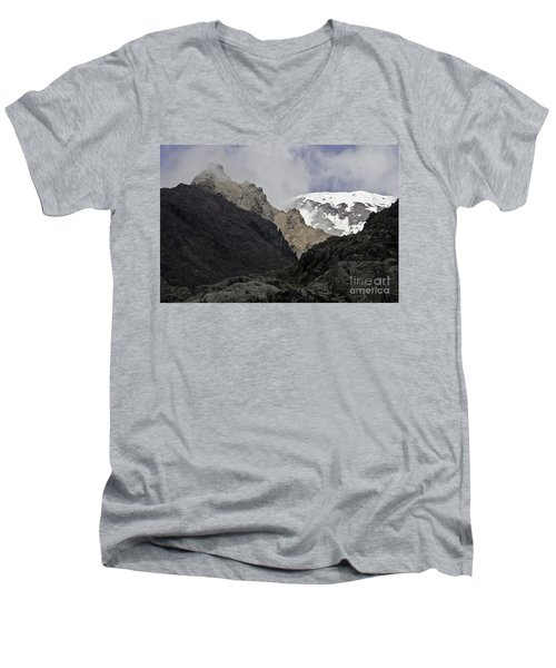 Somewhere In New Zealand Men's V-Neck T-Shirt