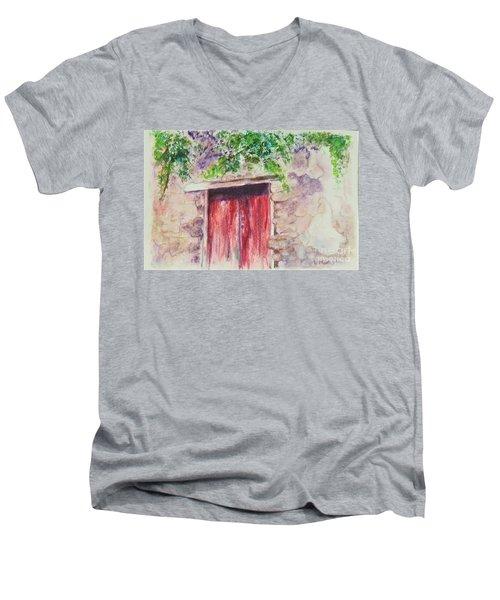Sorrento Secret Men's V-Neck T-Shirt