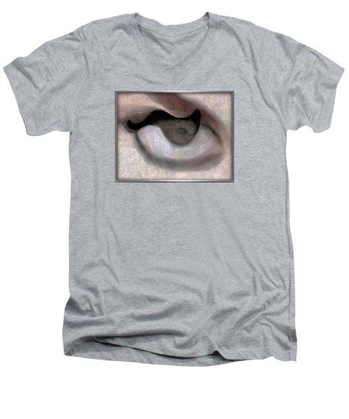 ' Southwest Rock Cave' Men's V-Neck T-Shirt