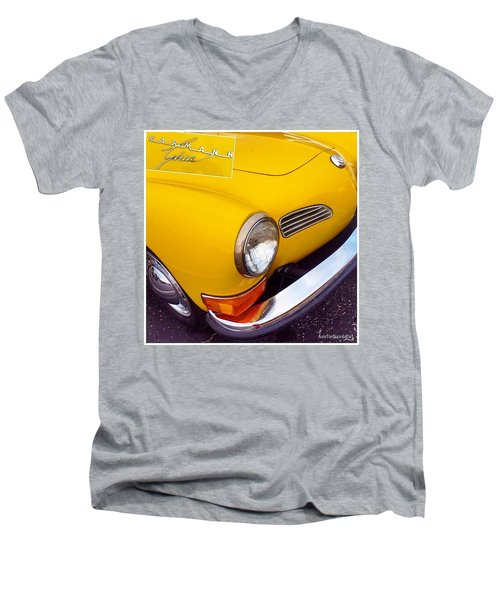 Spotted This #car Today While Men's V-Neck T-Shirt