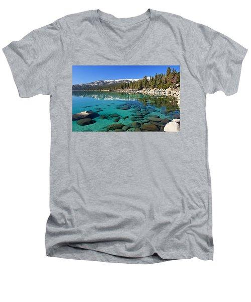 Spring Clarity Men's V-Neck T-Shirt