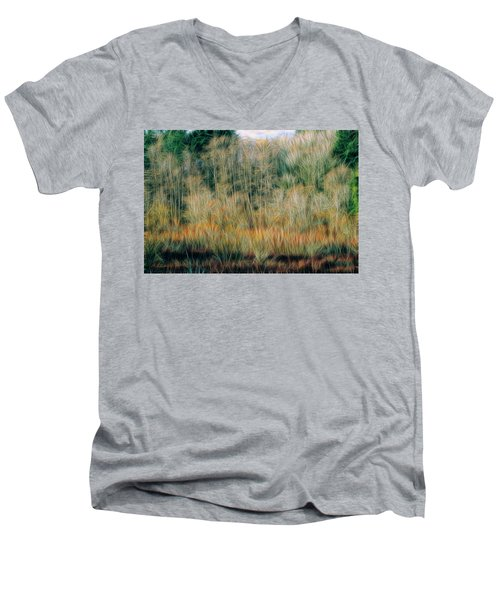 Spring Forest Men's V-Neck T-Shirt