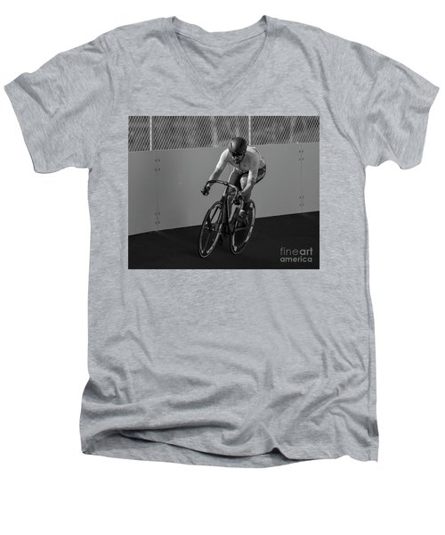 Sprinting Men's V-Neck T-Shirt