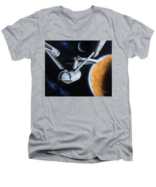 Standard Orbit Men's V-Neck T-Shirt
