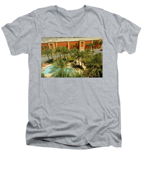Staycation Upgrade Men's V-Neck T-Shirt