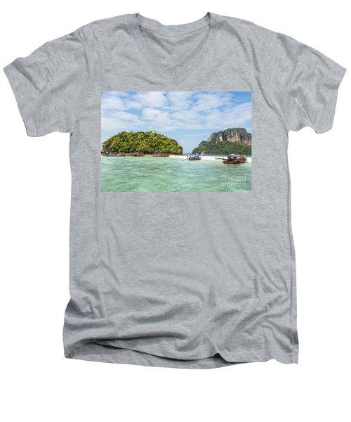 Stunning Krabi In Thailand Men's V-Neck T-Shirt