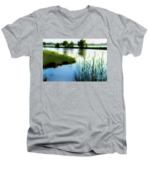 Summer Dreams Men's V-Neck T-Shirt