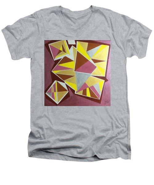 Summer Men's V-Neck T-Shirt by Hang Ho