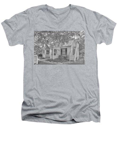 Sunday House Cottage Men's V-Neck T-Shirt