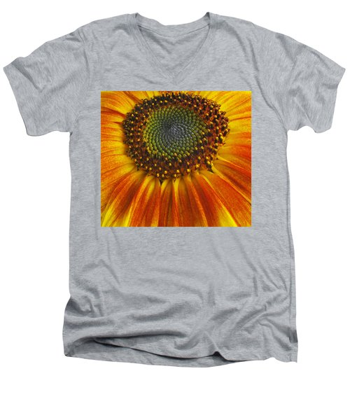 Sunflower Center Men's V-Neck T-Shirt