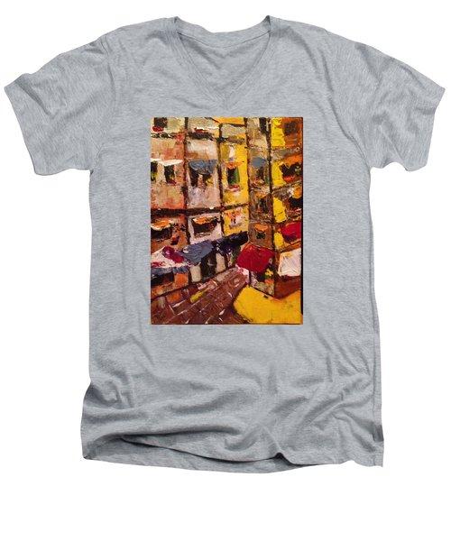 Sunny Side Of The Street Men's V-Neck T-Shirt
