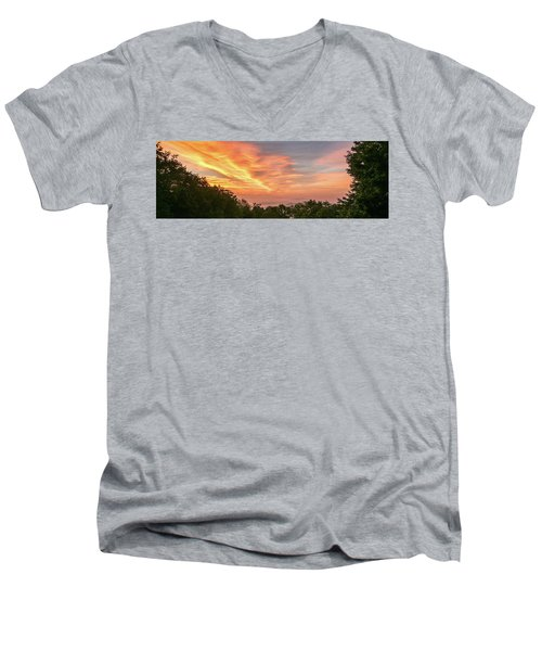 Sunrise July 22 2015 Men's V-Neck T-Shirt