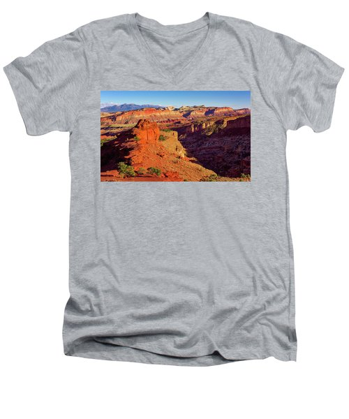 Sunset Point View Men's V-Neck T-Shirt