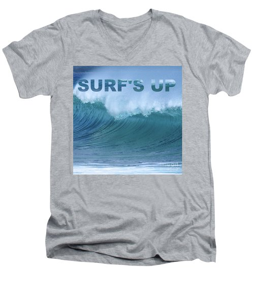 Surf's Up Men's V-Neck T-Shirt