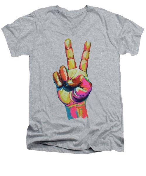 Symbol Men's V-Neck T-Shirt