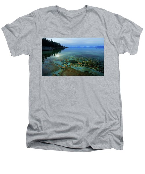 Tahoe Twilight Men's V-Neck T-Shirt