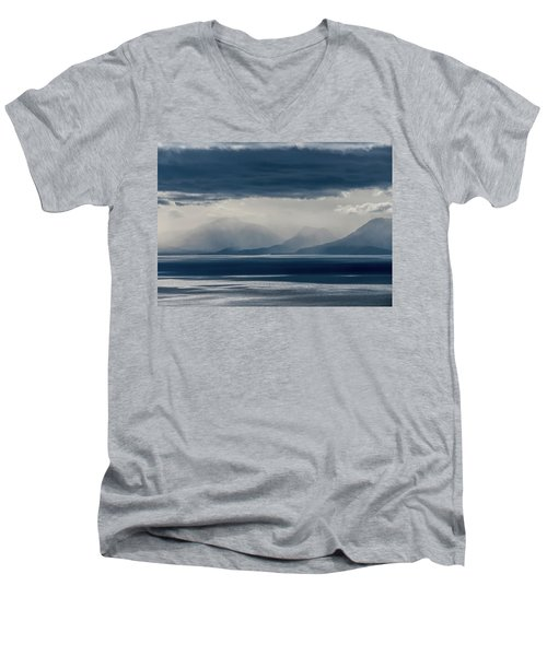 Tallac Stormclouds Men's V-Neck T-Shirt