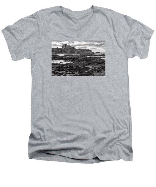 Tantallon Castle Men's V-Neck T-Shirt
