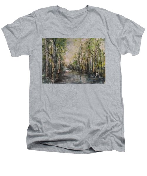 Bayou Liberty Men's V-Neck T-Shirt