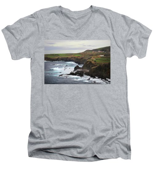 Terceira Coastline Men's V-Neck T-Shirt