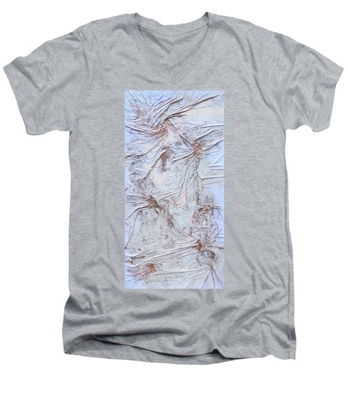 Textured Sunshine Men's V-Neck T-Shirt