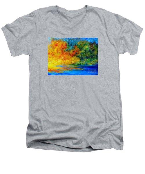 Memories Of Summer Men's V-Neck T-Shirt
