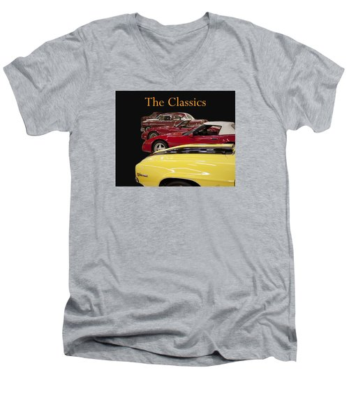 Men's V-Neck T-Shirt featuring the photograph The Classics by B Wayne Mullins