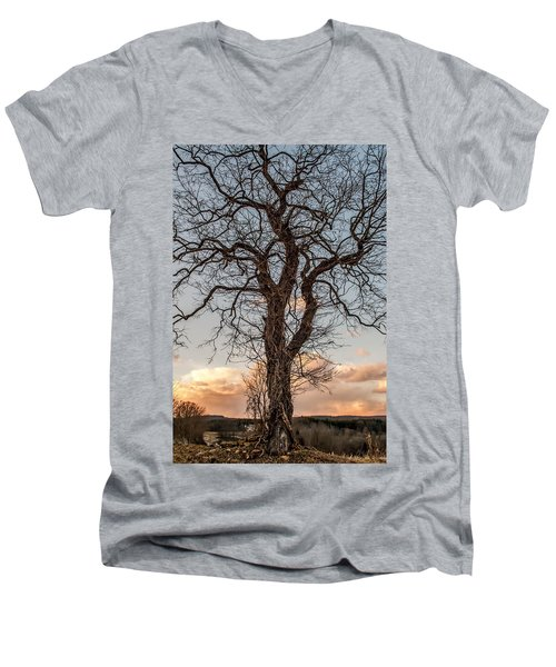 The End Of Another Day Men's V-Neck T-Shirt