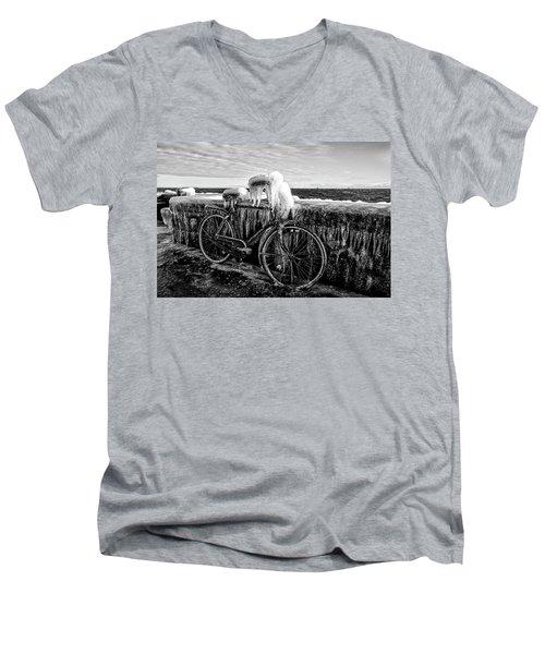 The Frozen Bike Men's V-Neck T-Shirt