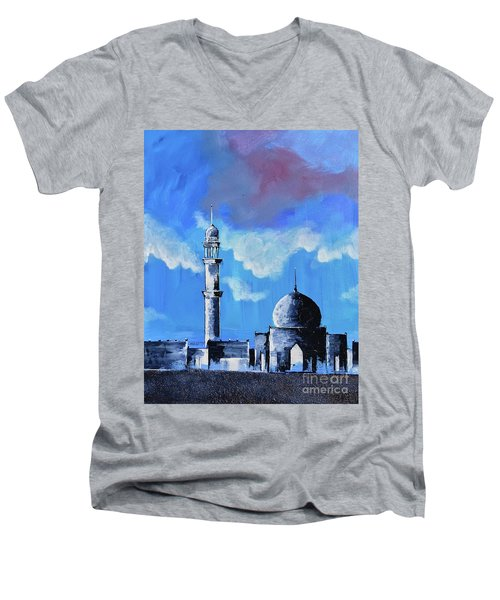 The Mosque Men's V-Neck T-Shirt