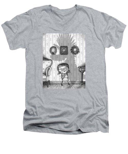 The Snarkle Beast Men's V-Neck T-Shirt