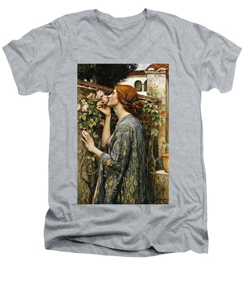 The Soul Of The Rose Men's V-Neck T-Shirt