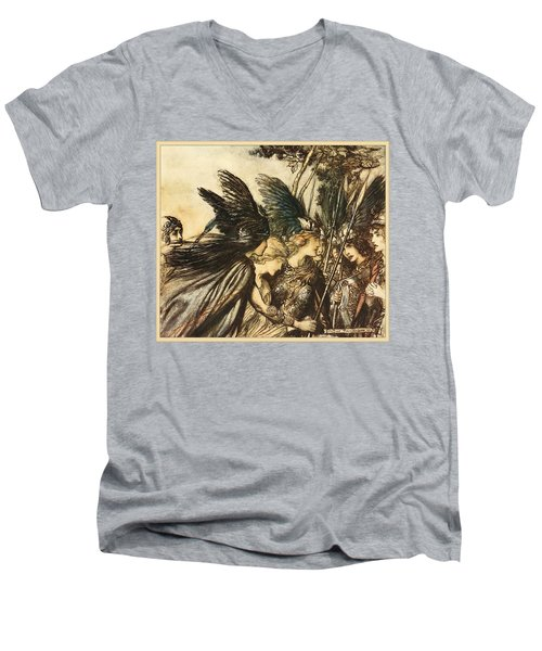 The Valkyrie Men's V-Neck T-Shirt