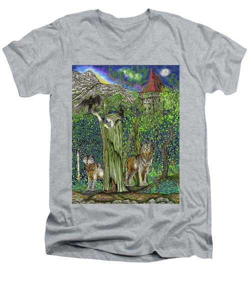 The Wanderer Men's V-Neck T-Shirt
