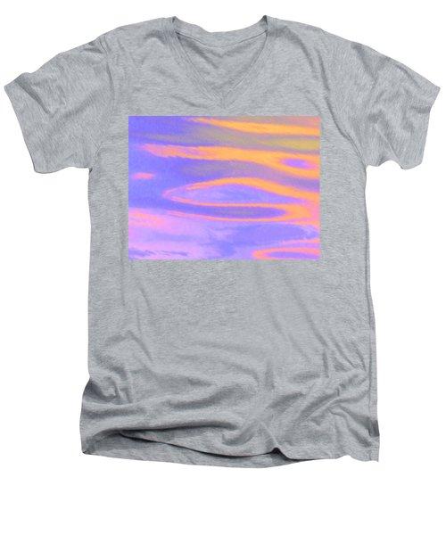 Threads Of Light Men's V-Neck T-Shirt