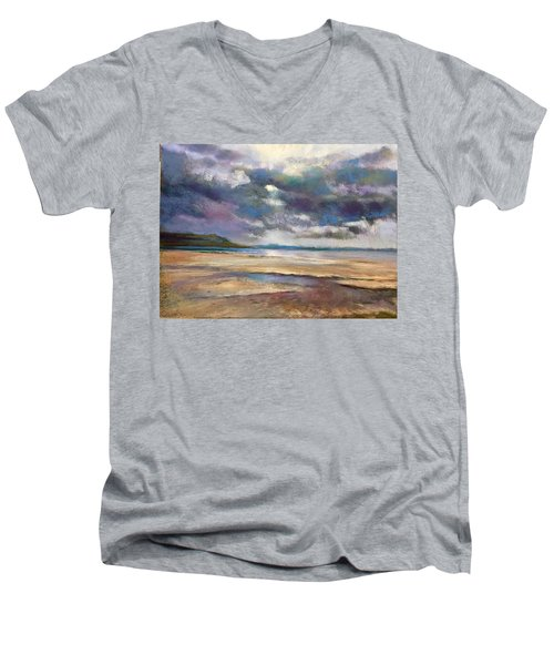 Tide's Retreat Men's V-Neck T-Shirt